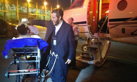 Jews wounded in Brussels taken to Israel