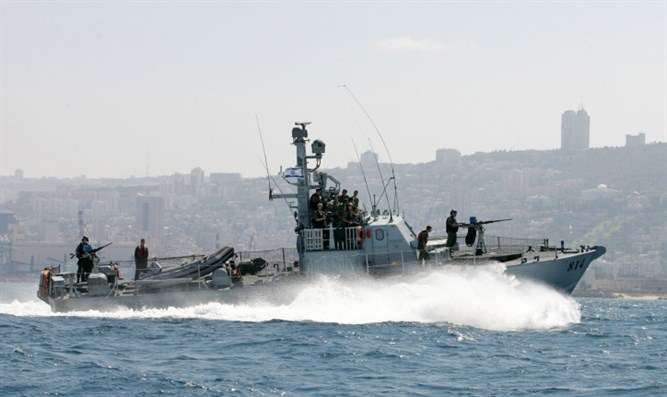 IDF ship (illustrative)