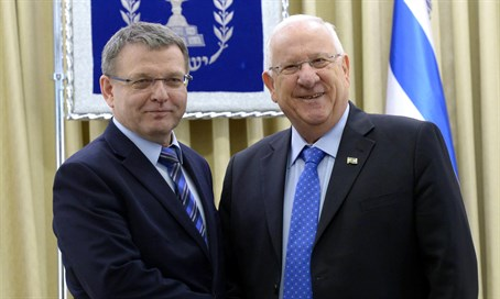 Reuven Rivlin meets with Czech Foreign Minister