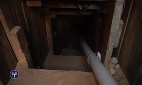 The Hamas terror tunnel