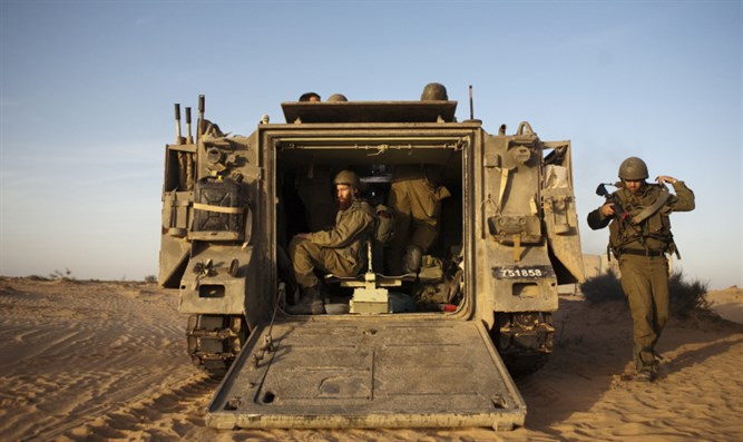 IDF reservists on duty