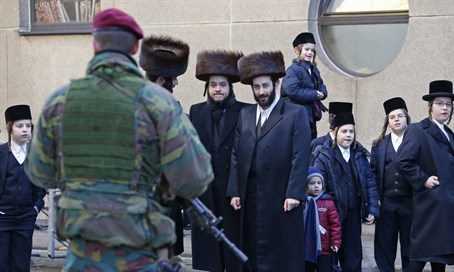 Belgian Jews live under the shadow of deadly anti-Semitism