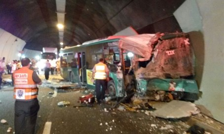 Carmel Tunnels bus crash