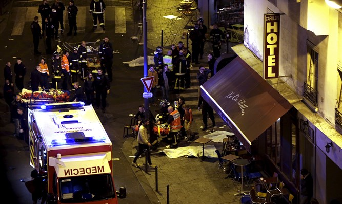 ISIS attack in Paris