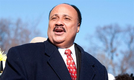 Martin Luther King III (file)