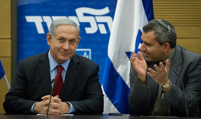 Elkin and Netanyahu (archive)