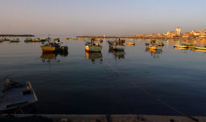 boats by Gaza (archive)