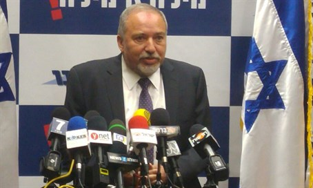Avigdor Liberman details conditions for joining gov't