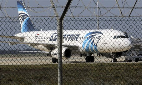 EgyptAir plane (illustration)