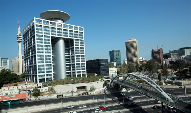 Defense Ministry headquarters in Tel Aviv