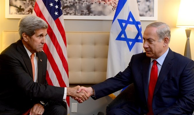 Kerry and Netanyahu (archive)