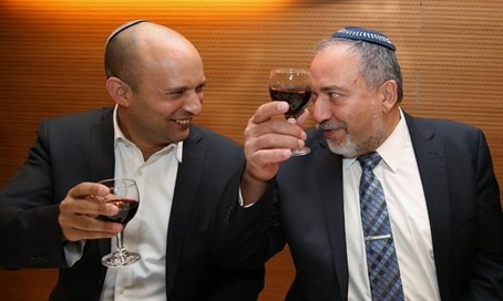 Liberman and Bennett at the wedding