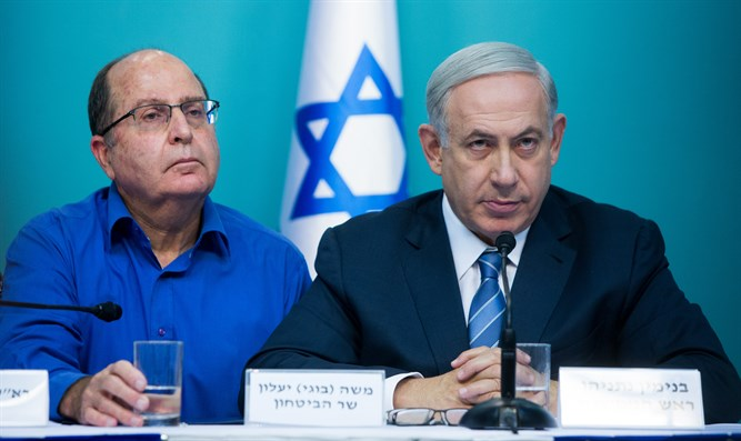 Ya'alon and Netanyahu
