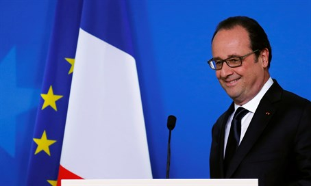 French President Francois Holland