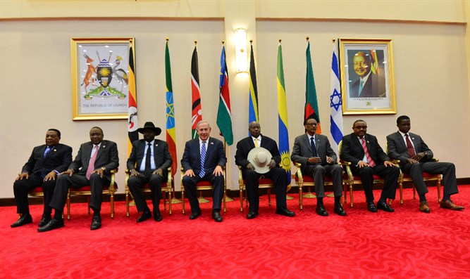 Netanyahu meets African leaders