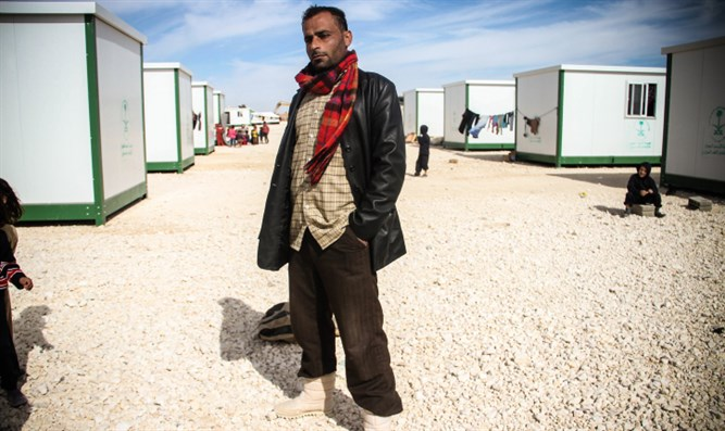 Syrian refugee camp (archive image)
