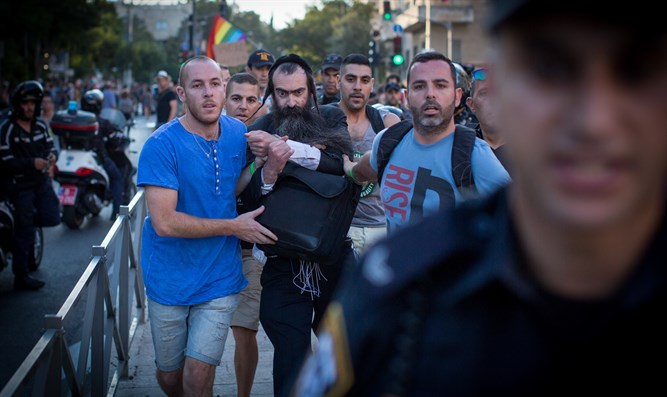 Police arrest gay parade attacker Yishai Shlissel