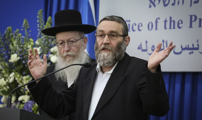 Gafni and Litzman. Degel Hatorah still divided over Agudat Yisrael
