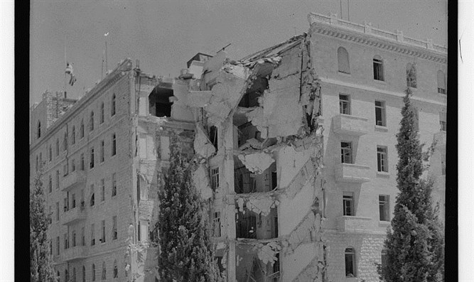 K. David Hotel after bombing