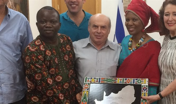 Chair of Jewish Agency Natan Sharansky met with African Christian leaders