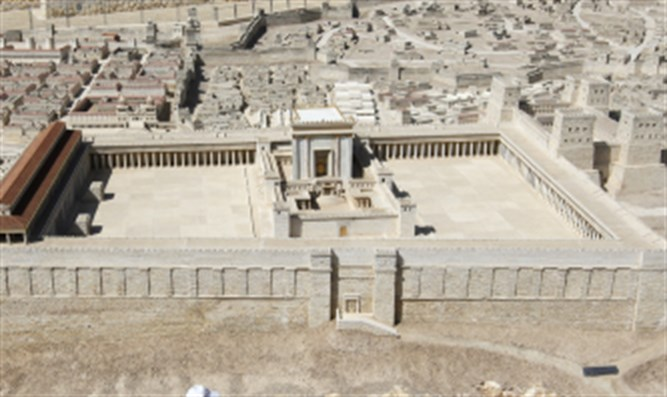 Model of the Temple