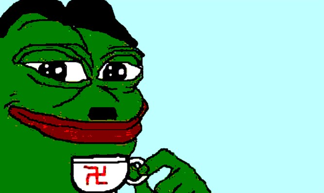 Pepe the Frog, an internet meme, has become a symbol of the alt-right