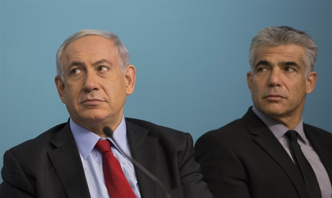 Centrist leader says Netanyahu should resign