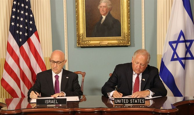 Signing of aid agreement
