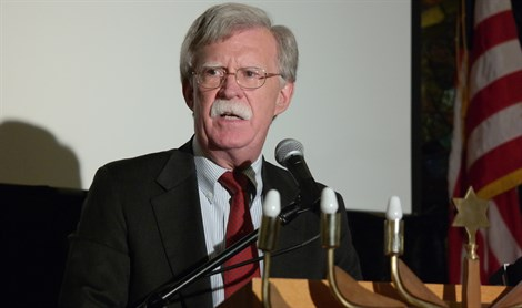 John Bolton speaks at Young Israel of Queens