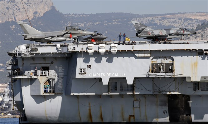 Aircraft Carrier. Illustrative.