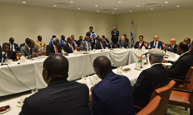 Netanyahu meets African leaders at the UN