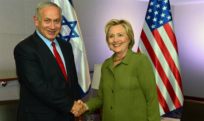 Netanyahu and Clinton meet in New York