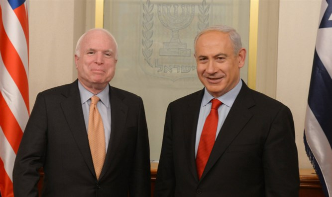 Netanyahu and McCain