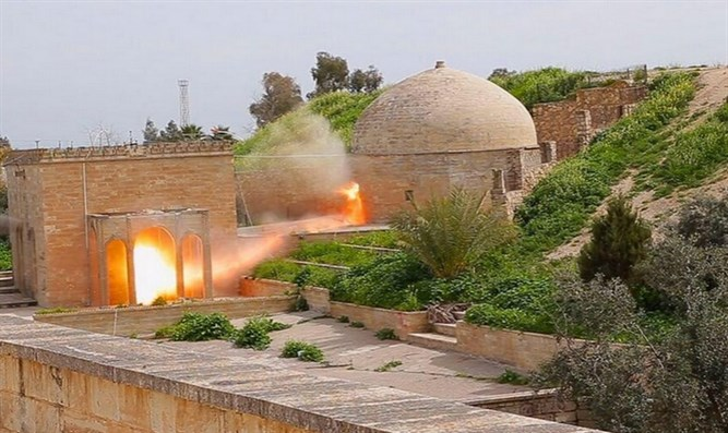 Monastery destroyed by ISIS (archive)