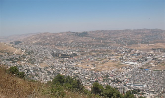 Illustration: View from the hills of Samaria