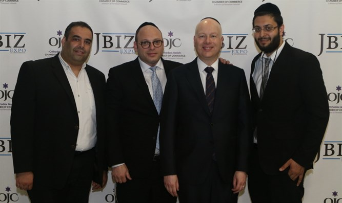 Jason Greenblatt (second from right)