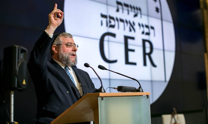 Rabbi Pinchas Goldschmidt, President of the Conference of European Rabbis