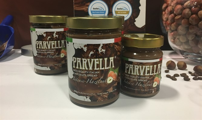 Parvella hazelnut chocolate spread