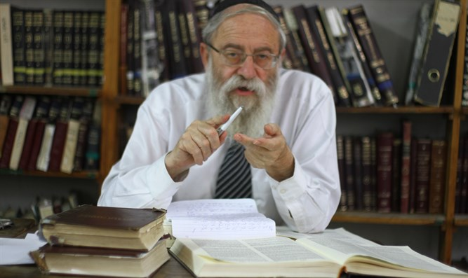 Chief Rabbi of Jerusalem Rabbi Stern
