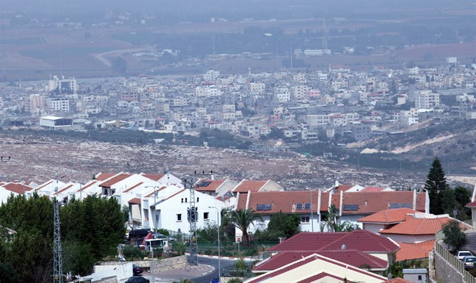 Qalqilya moves closer to a Jewish town