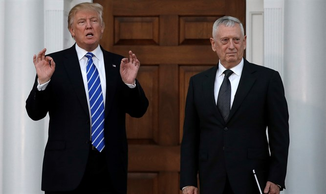 Trump with Defense Secretary Mattis