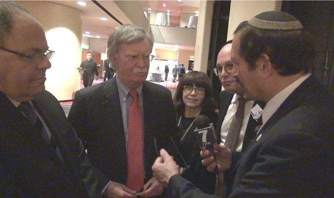 Dr. Frager speaks with Amb. Bolton