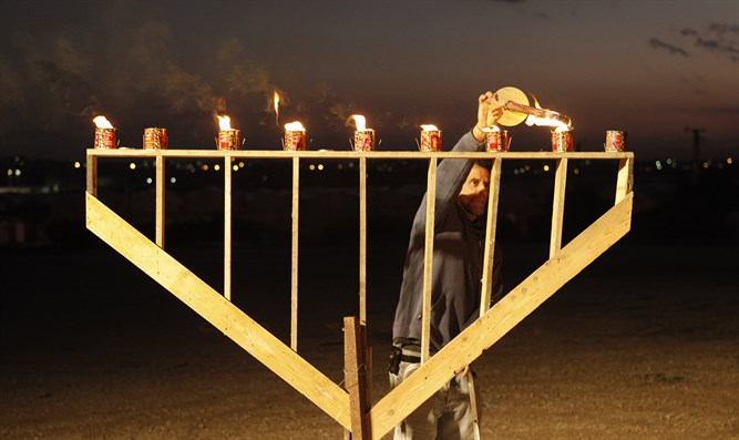 Menorah (stock image)