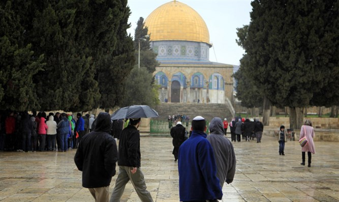 Discrimination on the Temple Mount