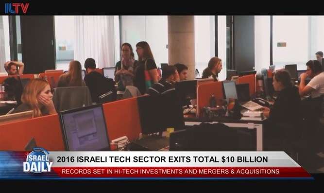Israeli tech sector exits total $10 billion in 2016