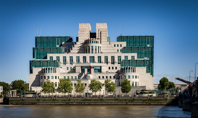 Secret Intelligence Service (SIS) building in London