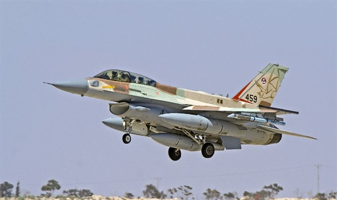 Israel launches heavy air strike in Syria after F-16 crash
