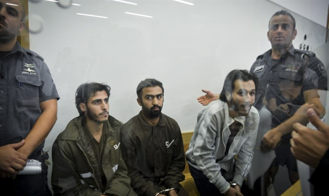 Sarona terrorists in court