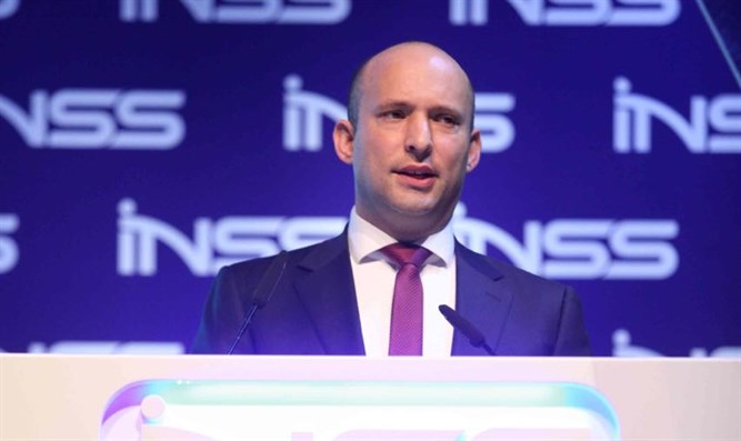 Bennett speaks at INSS conference