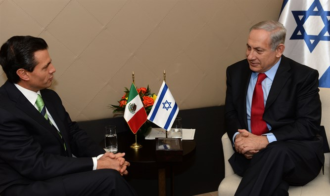 מיישPM meets with Mexican President
